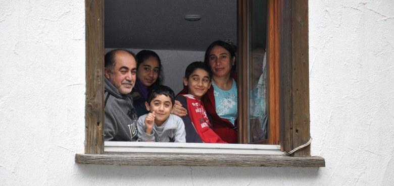 Begegnungen mit Flüchtlingen